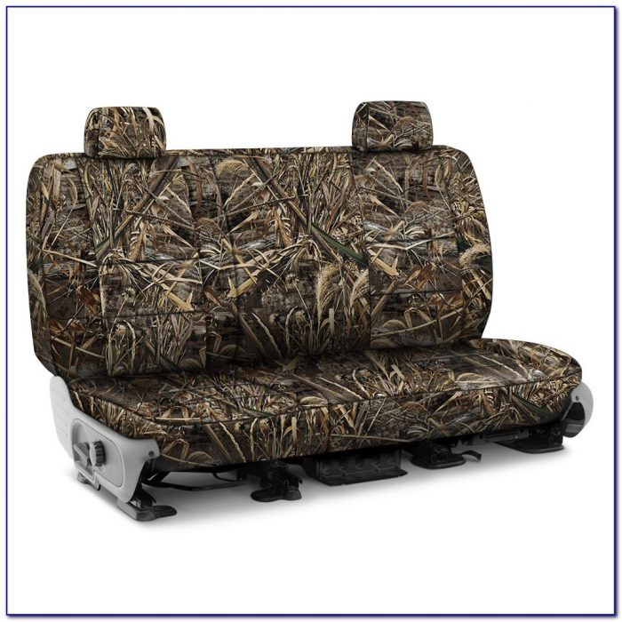 Team Realtree Pink Bench Seat Covers