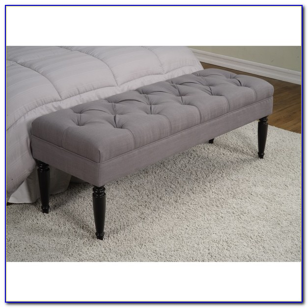 Tufted End Of Bed Storage Bench Bench Home Design Ideas Kypzm6mzqo105824