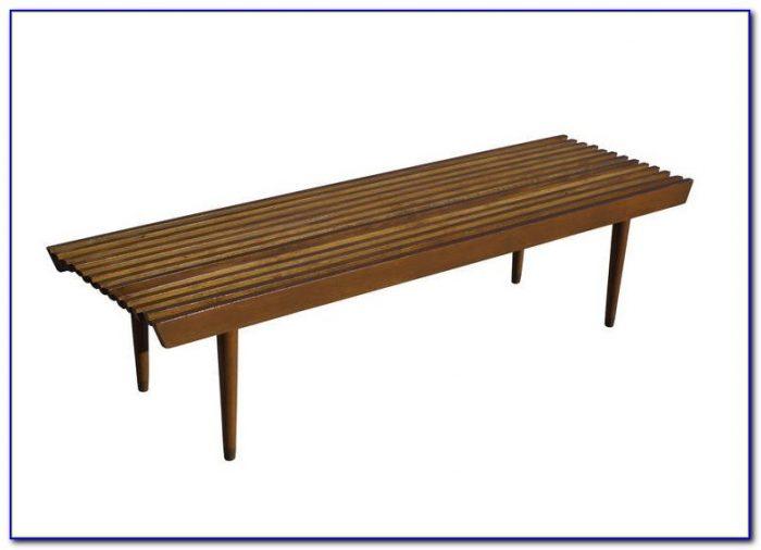 Vintage George Nelson Slat Bench