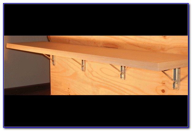 Wall Mounted Folding Bench Brackets (3)