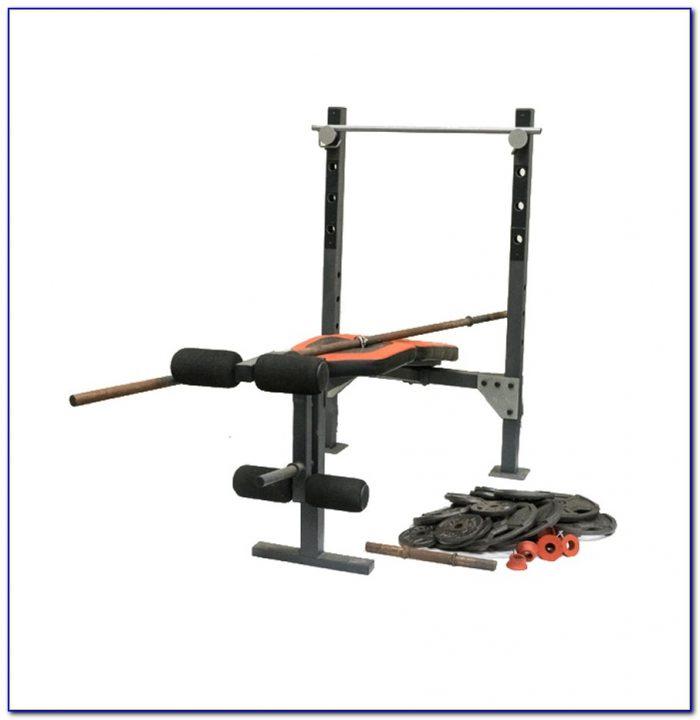 Weider 138 Weight Bench Set