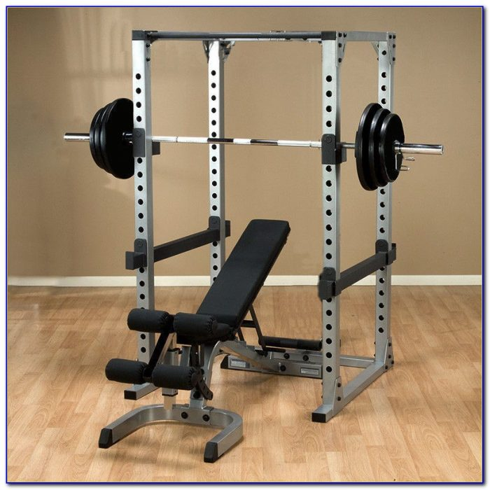 Weight Bench With 100 Pound Weight Set
