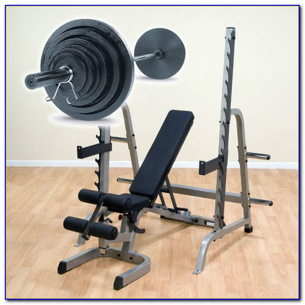 Weight Bench With Weight Set