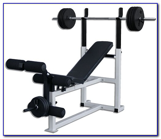 Everlast Weight Bench And Weights Set Bench Home