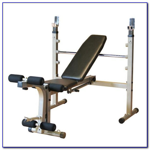 Weight Lifting Bench Incline Decline Or Flat Adjustable