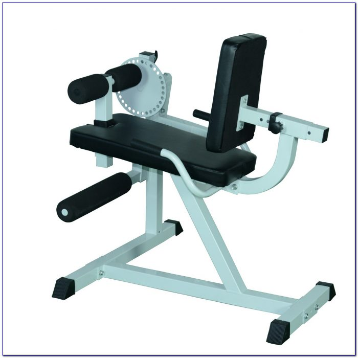 Weight Lifting Bench With Leg Extension