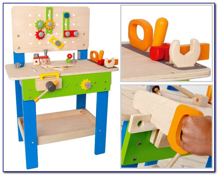 Wood Toy Tool Bench