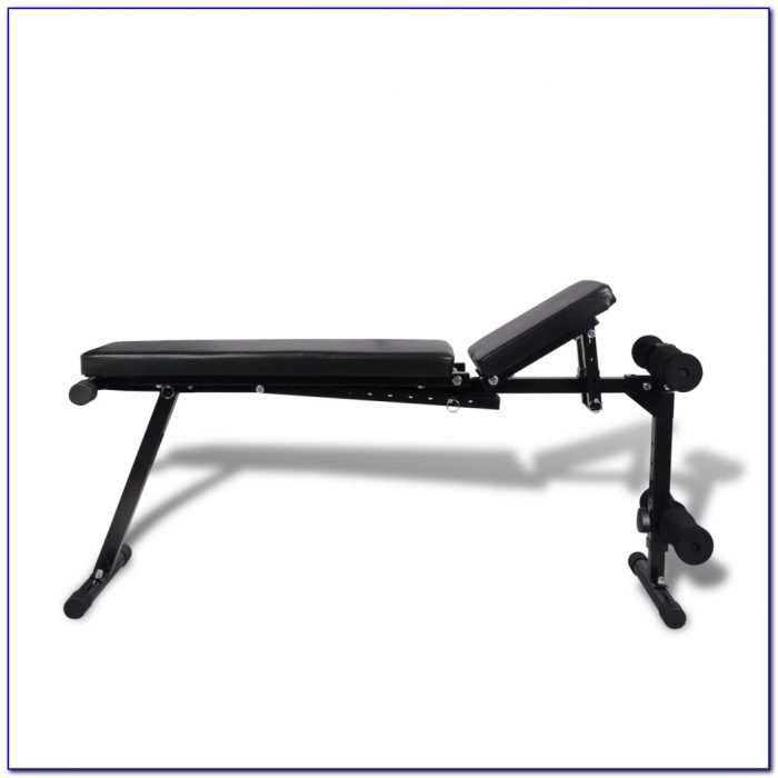 Work Out Bench With Weights