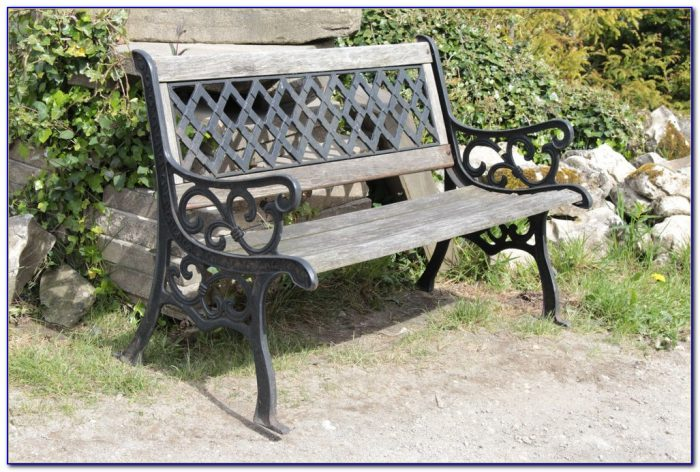 Wrought Iron Bench Seat Ends