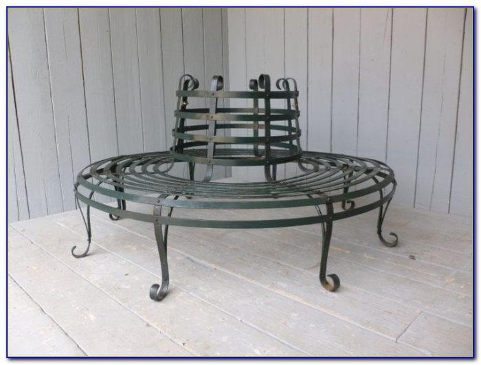 Wrought Iron Garden Bench Ends