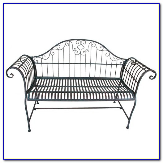 Wrought Iron Garden Bench Singapore