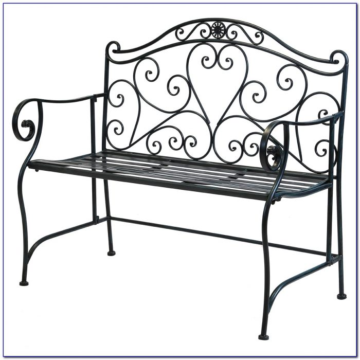 Wrought Iron Garden Bench Uk