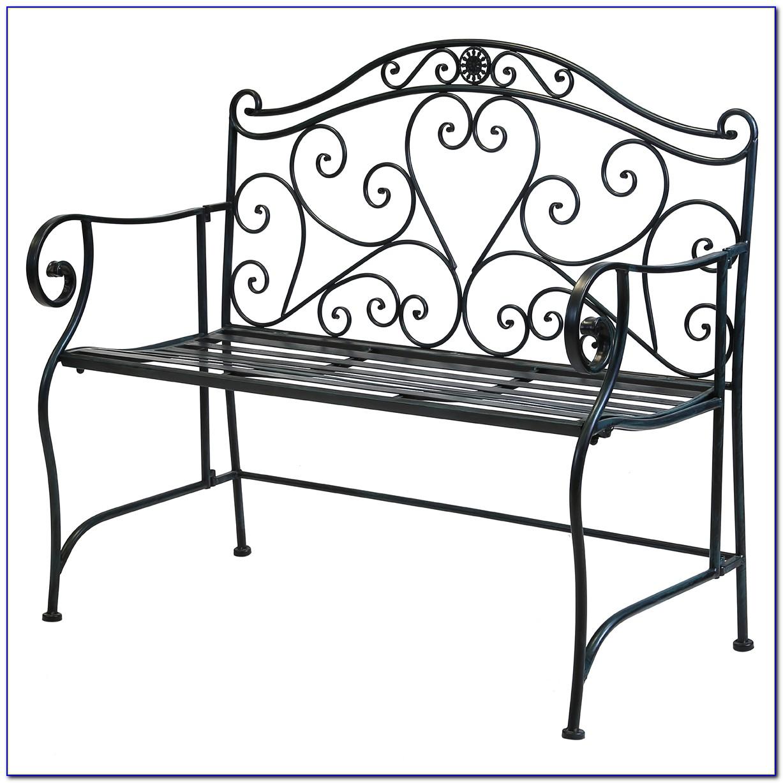 Wrought Iron Garden Bench Uk