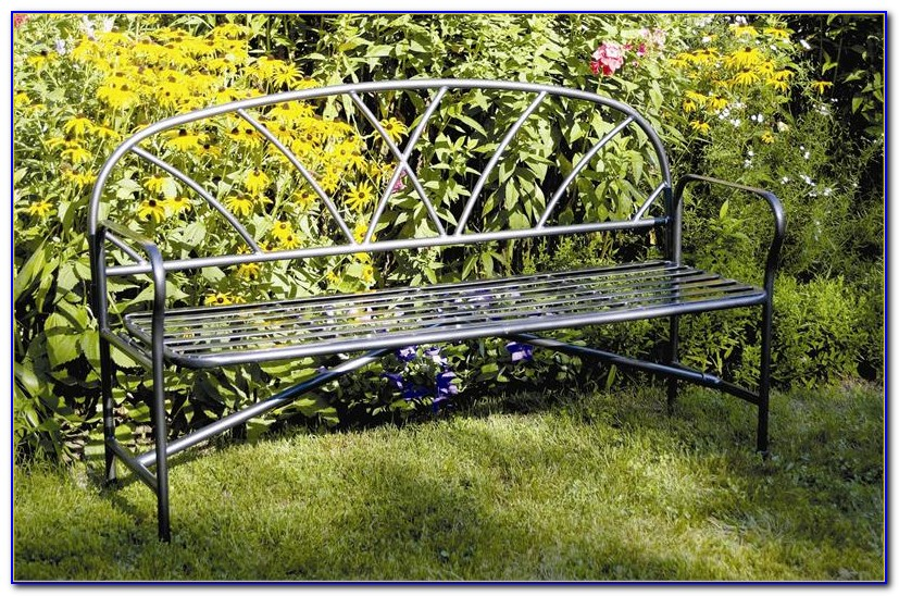 Wrought Iron Outdoor Bench Perth