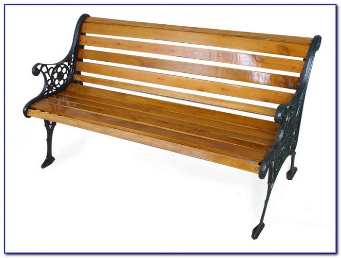 Wrought Iron Park Bench Ends