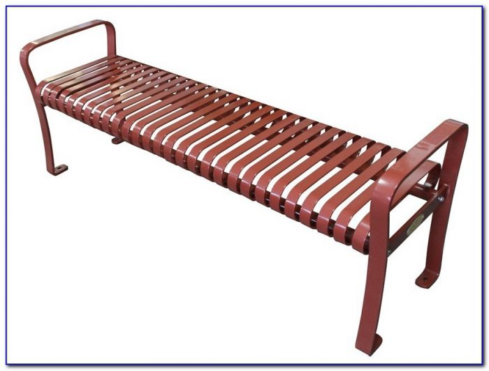 Wrought Iron Patio Bench