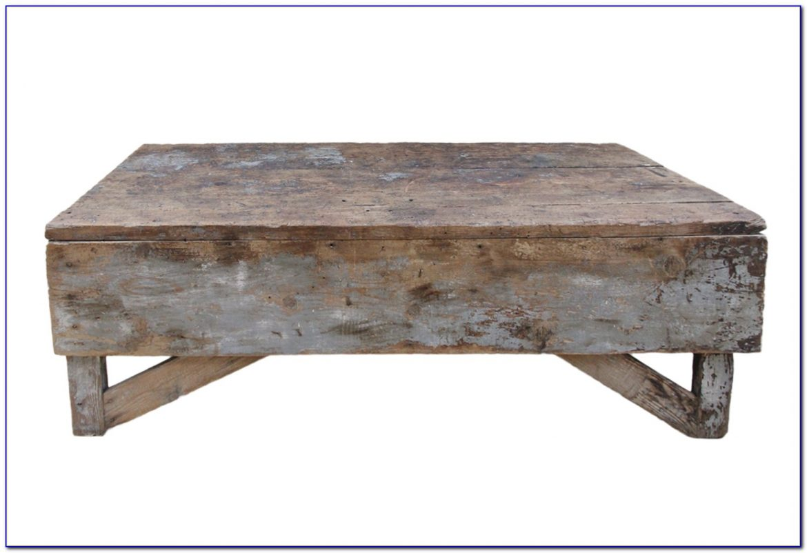 X Bench As Coffee Table