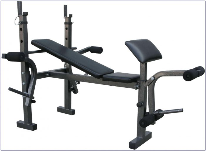 York Exercise Bench With Weights