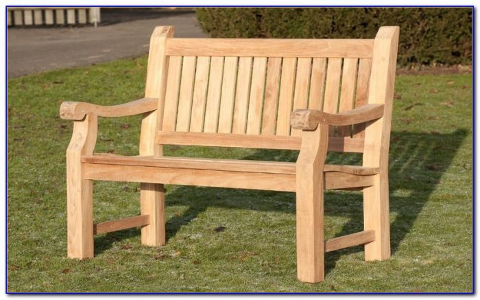 2 Seater Garden Bench Homebase