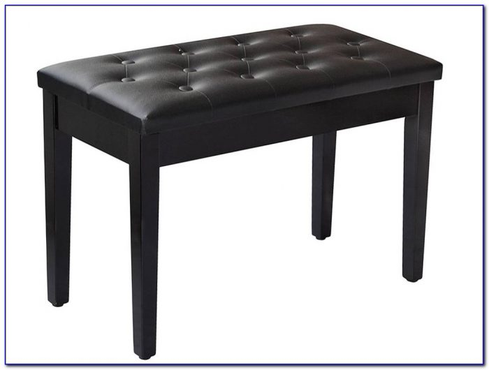 Adjustable Duet Piano Bench With Storage