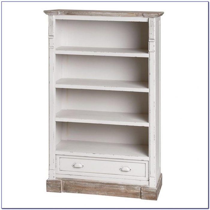 Antique White Book Shelf