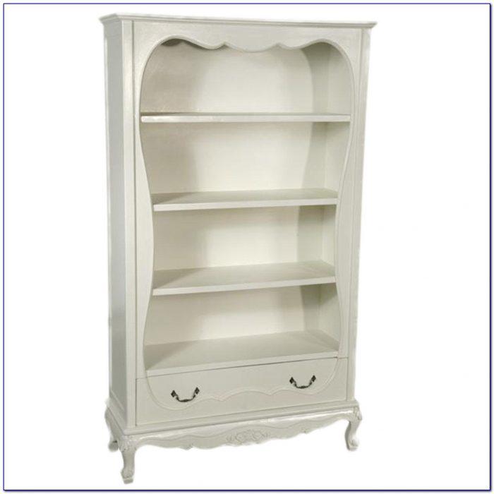 Antique White Bookcase Canada