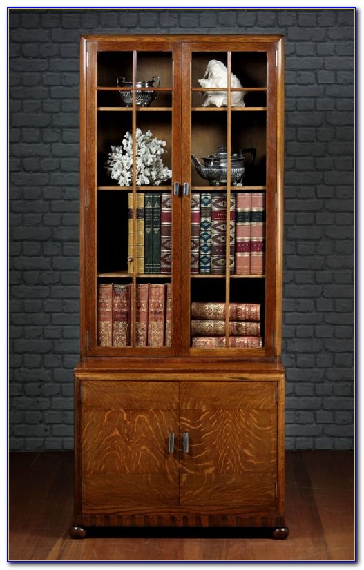 Art Deco Bookcase Antique