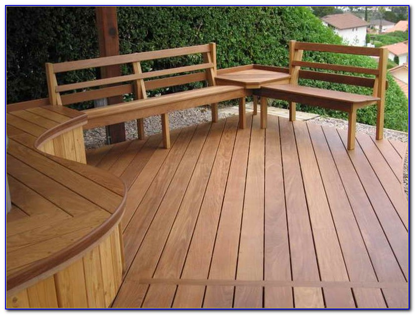 Bench Designs For Decks