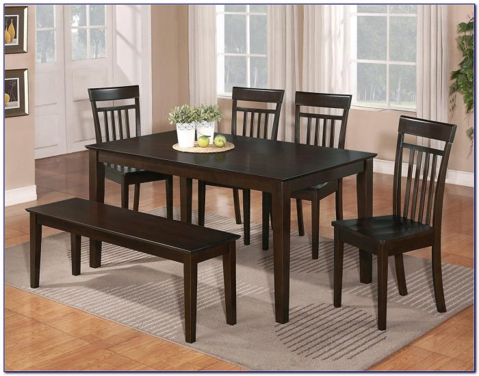 Bench Seat Dining Tables