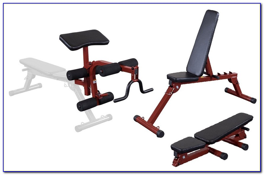 Parabody Weight Bench With Leg Attachment Bench Home