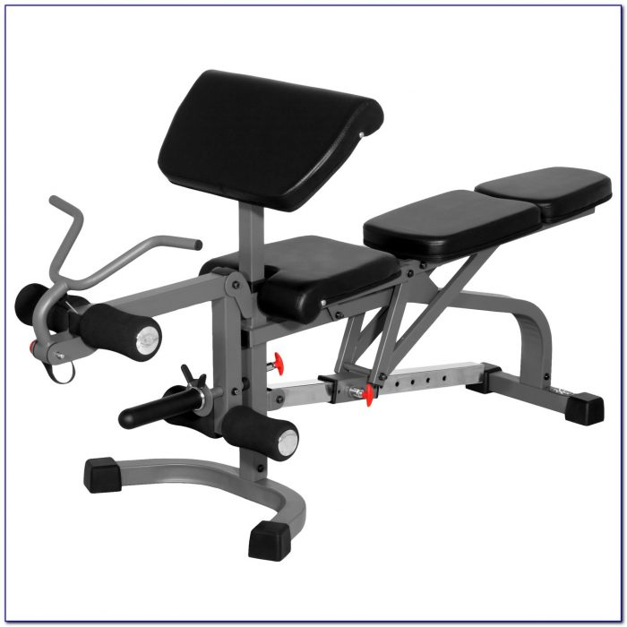Body Solid Weight Bench With Leg Attachment