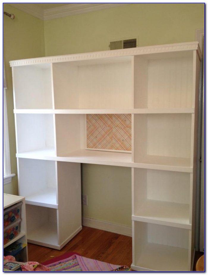 Bookcase Desk Combo Ikea