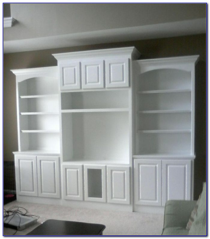 Bookcase Entertainment Center Design