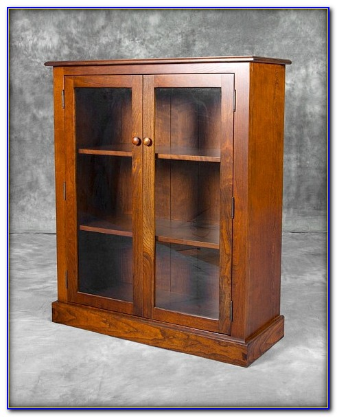 Bookcase With Glass Doors Singapore