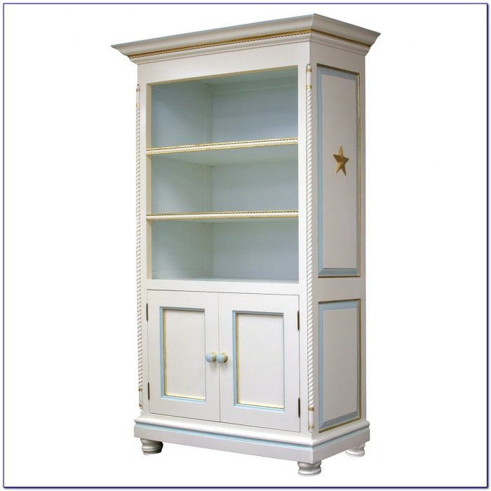Bookcases With Doors White
