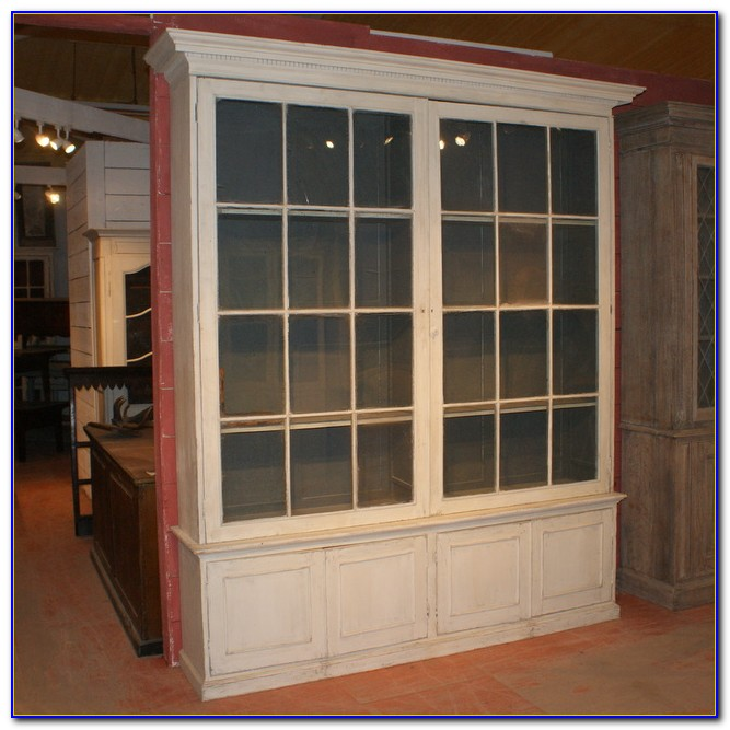 Bookcases With Glass Doors Australia