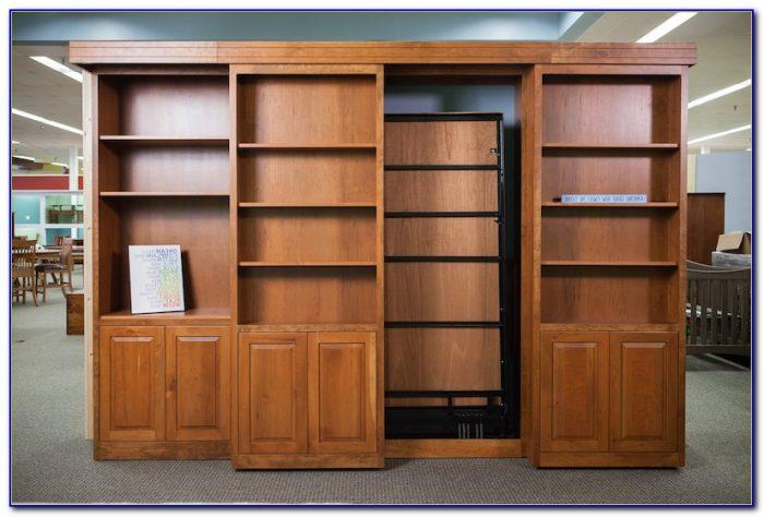 Bookshelf Murphy Bed