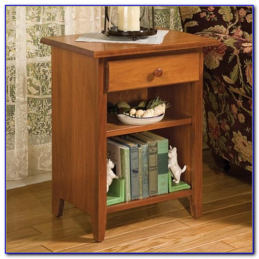 Bookshelves End Table