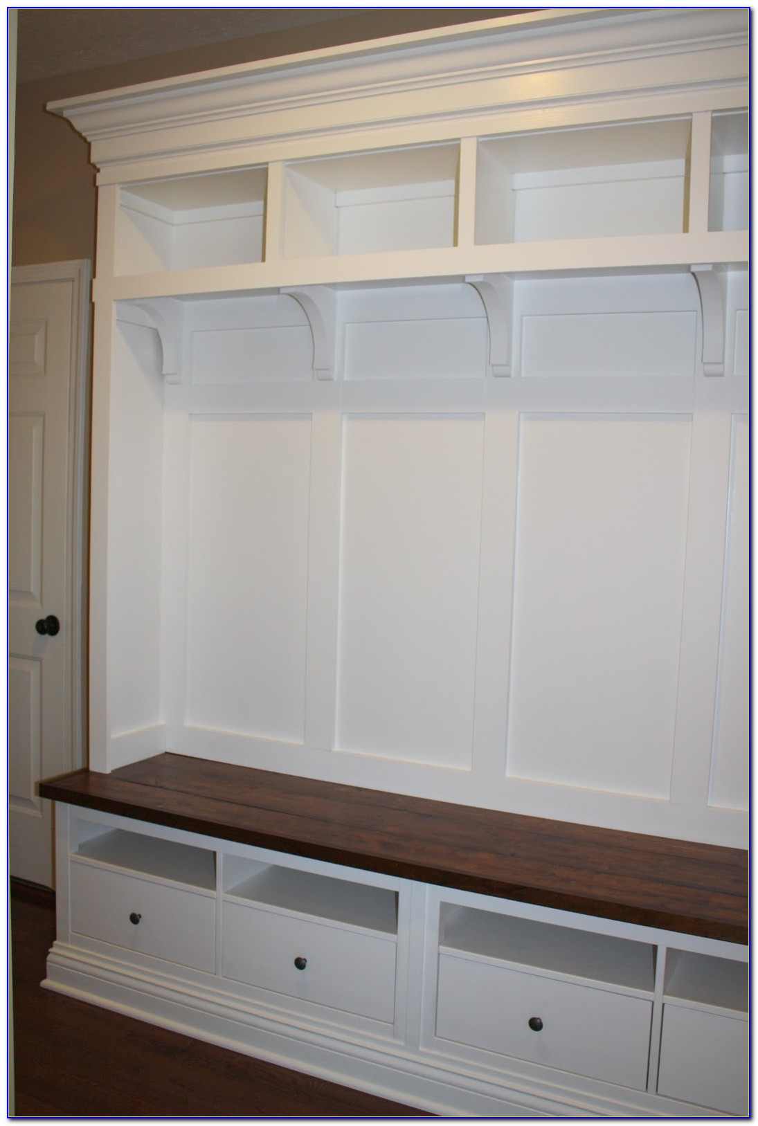 Build Entryway Bench With Storage