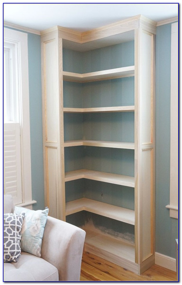Built In Bookcases Around Window