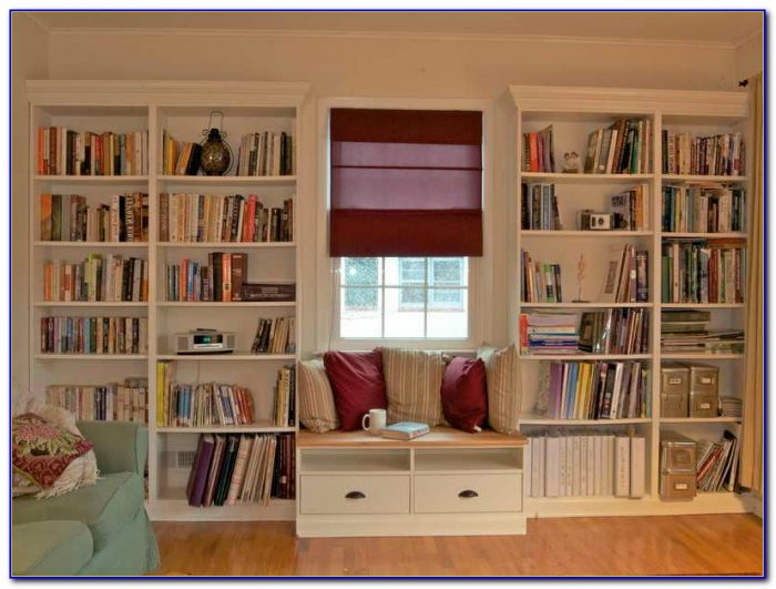 Built In Bookcases With Fireplace
