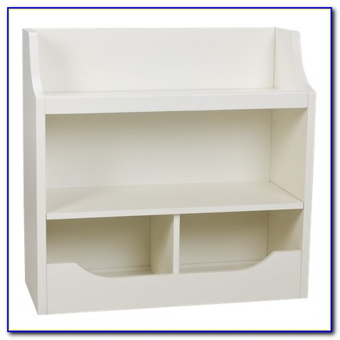Carson 3 Shelf Bookcase White