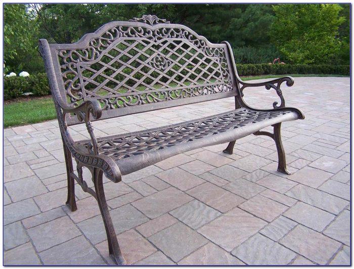 Cast Aluminum Garden Benches