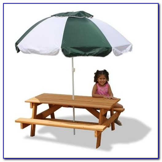 Childrens Wooden Picnic Table Uk