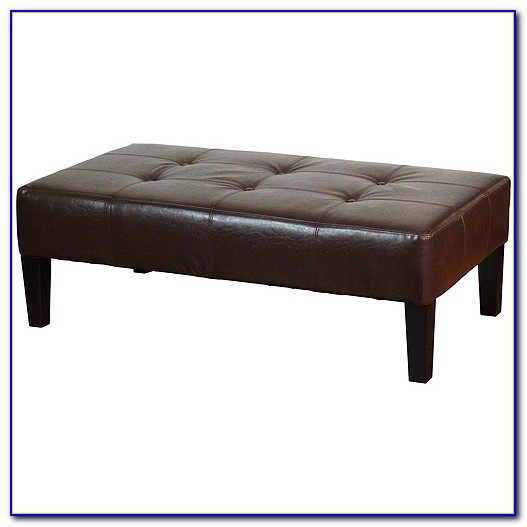 Coffee Table Bench Ottoman