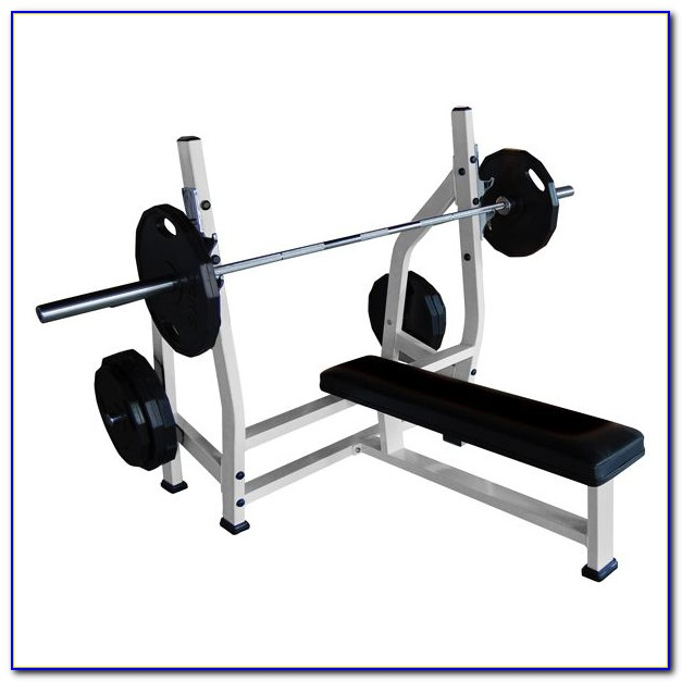 Commercial Olympic Weight Bench