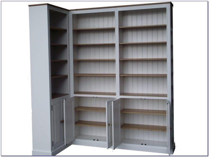 Corner Bookcase Ikea White