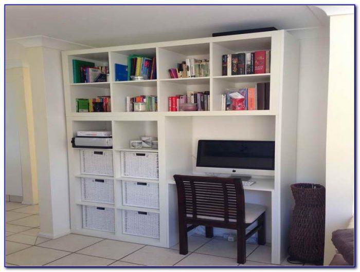 Corner Computer Desk With Bookcase