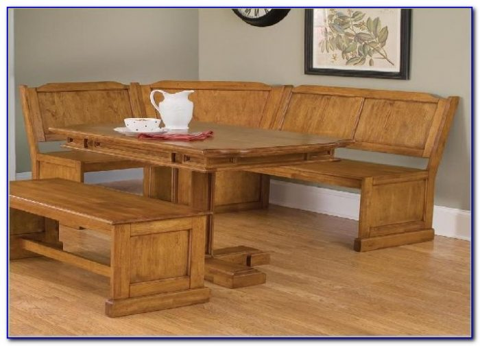 Corner Kitchen Bench And Table