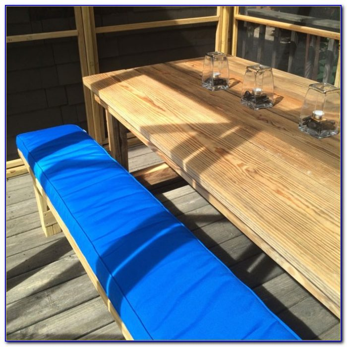 Custom Bench Cushions Outdoor